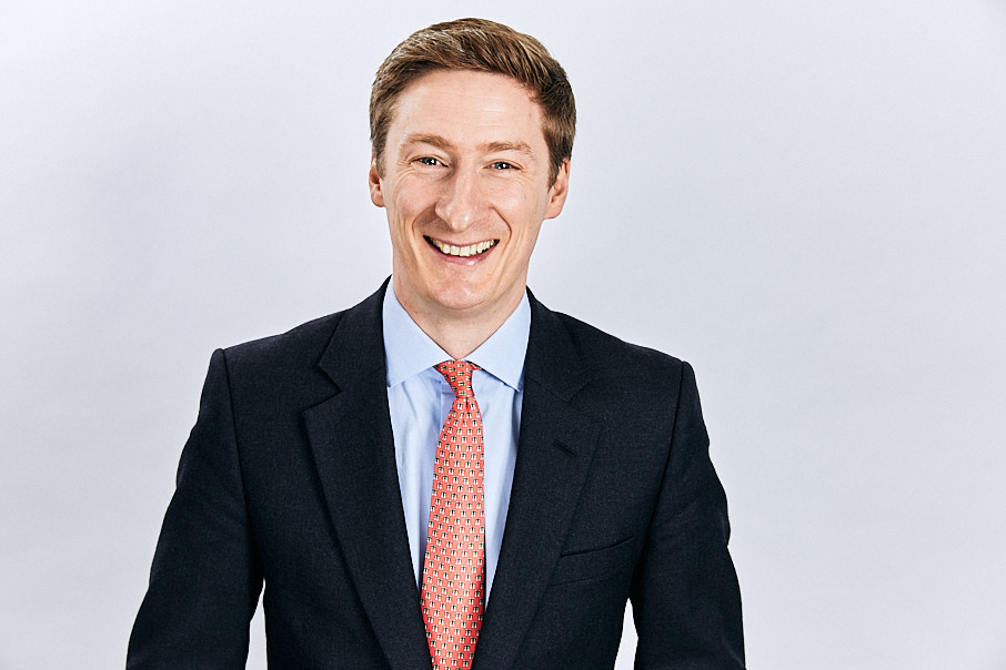 business headshot of a man
